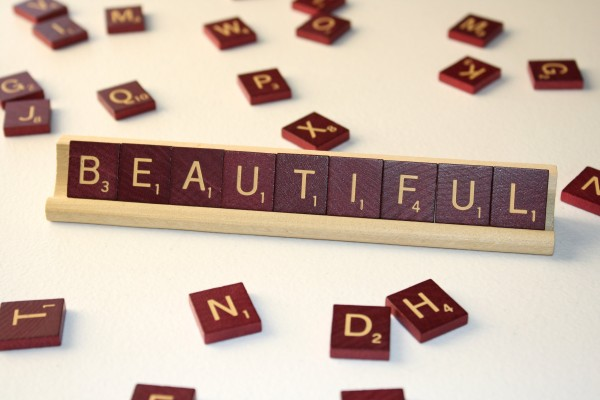 Beautiful - Free High Resolution Photo of the word Beautiful spelled in Scrabble tiles