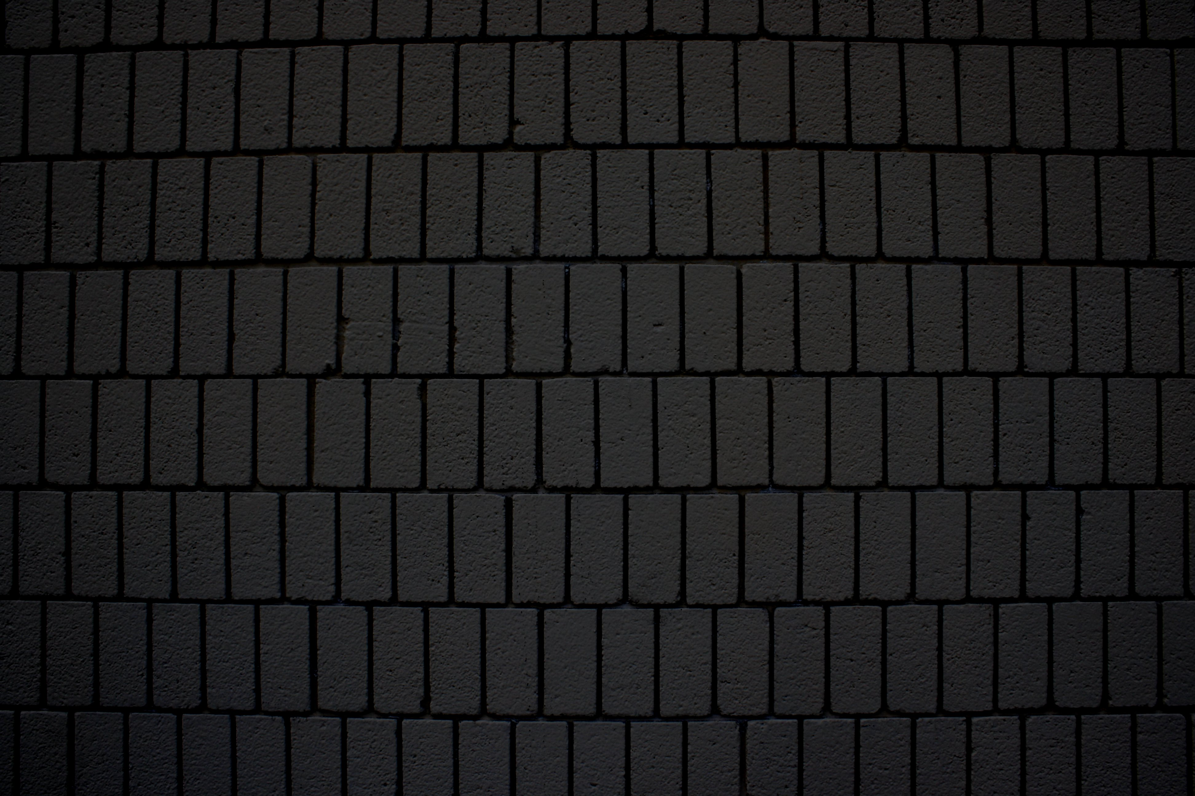 Black Brick Wall Texture with Vertical Bricks Picture ...