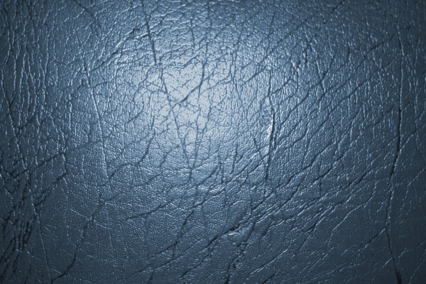 Blue Gray Leather Texture - Free High Resolution Photo