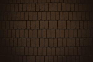 Chocolate Brown Brick Wall Texture with Vertical Bricks - Free High Resolution Photo