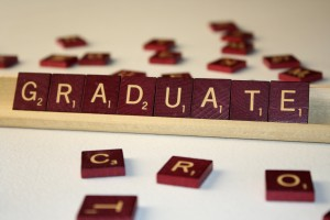 Graduate - Free High Resolution Photo of the word Graduate spelled in Scrabble tiles