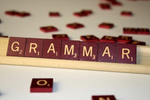 Grammar - Free high resolution photo of the word Grammar spelled in Scrabble tiles