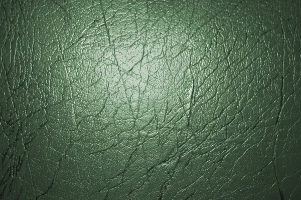 Green Colored Leather Texture - Free High Resolution Photo