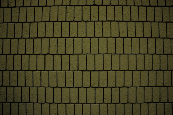 Khaki Olive Green Brick Wall Texture with Vertical Bricks - Free High Resolution Photo