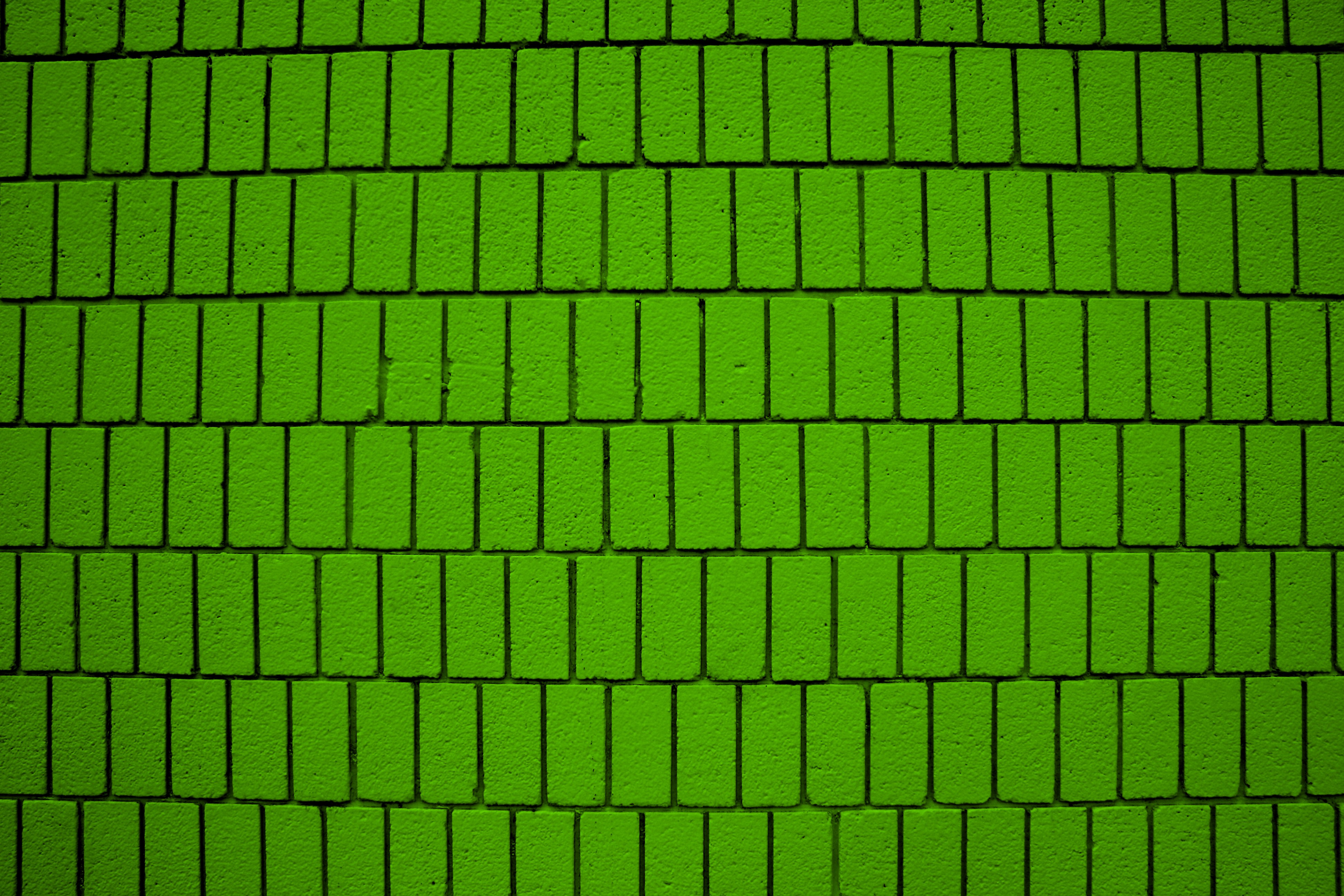 Lime Brick On Image : Lime green brick wall texture with vertical bricks picture