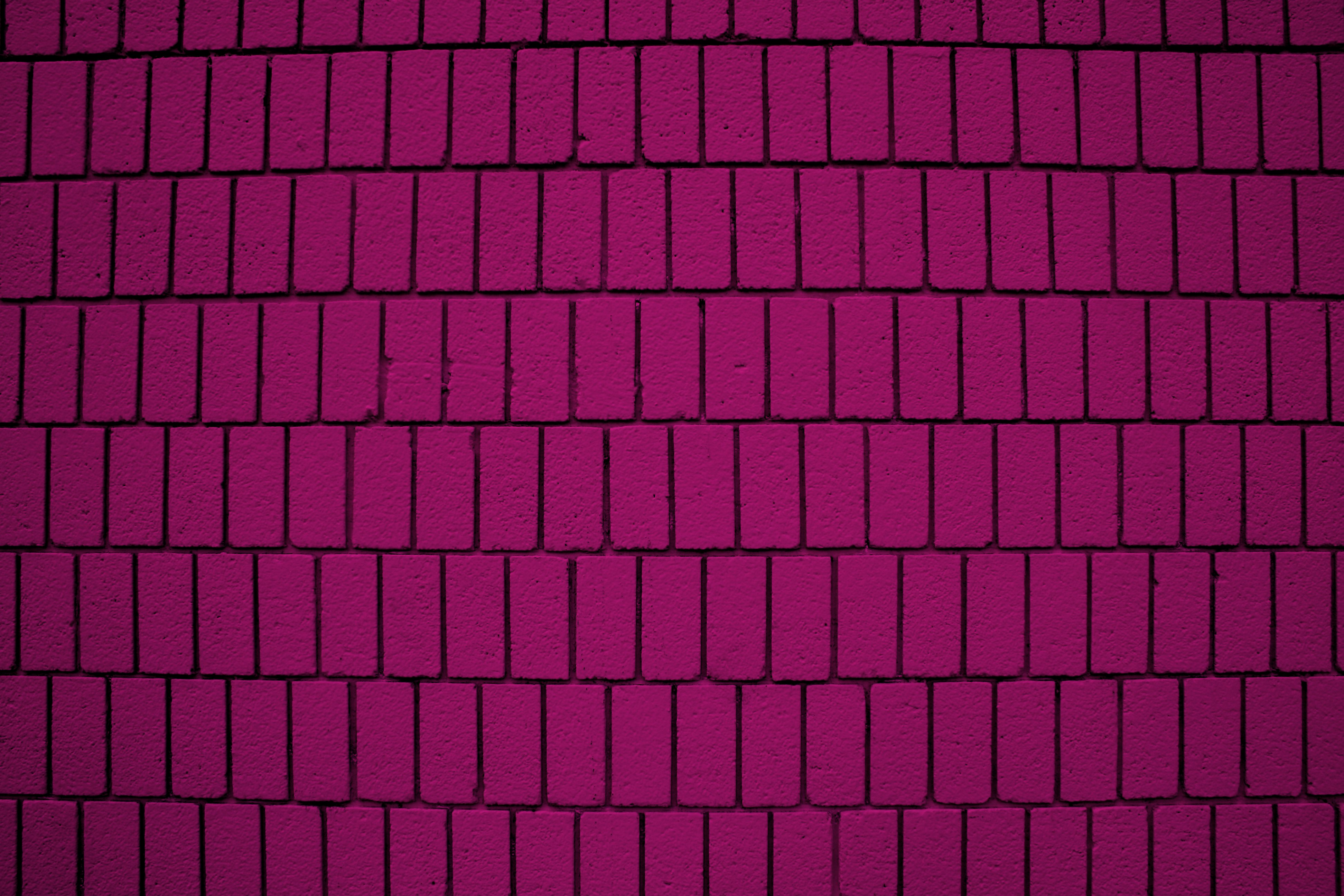 Magenta Brick Wall Texture With Vertical Bricks Picture