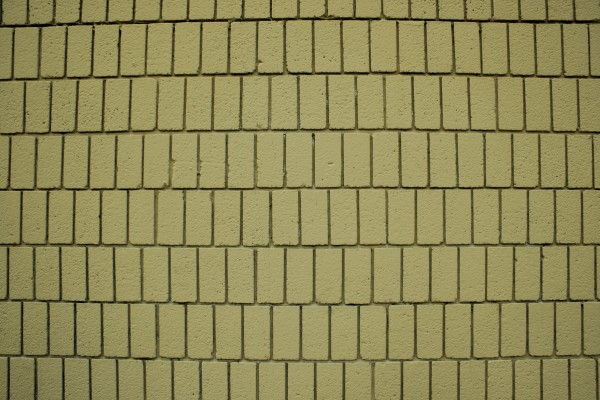 Mustard Yellow Brick Wall Texture with Vertical Bricks - Free High Resolution Photo