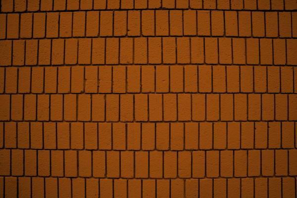 Orange Brick Wall Texture with Vertical Bricks - Free High Resolution Photo