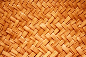 Orange Woven Straw Texture - Free High Resolution Photo