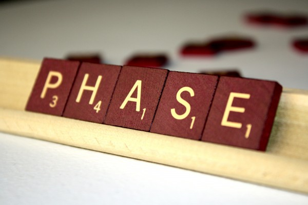 Phase - Free High Resolution Photo of the word Phase spelled in Scrabble tiles