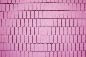 Pink Brick Wall Texture with Vertical Bricks - Free High Resolution Photo