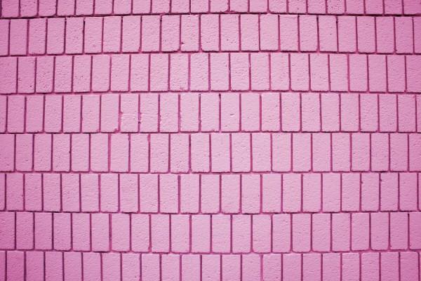 Pink Brick Wall Texture with Vertical Bricks - Free High Resolution Photo