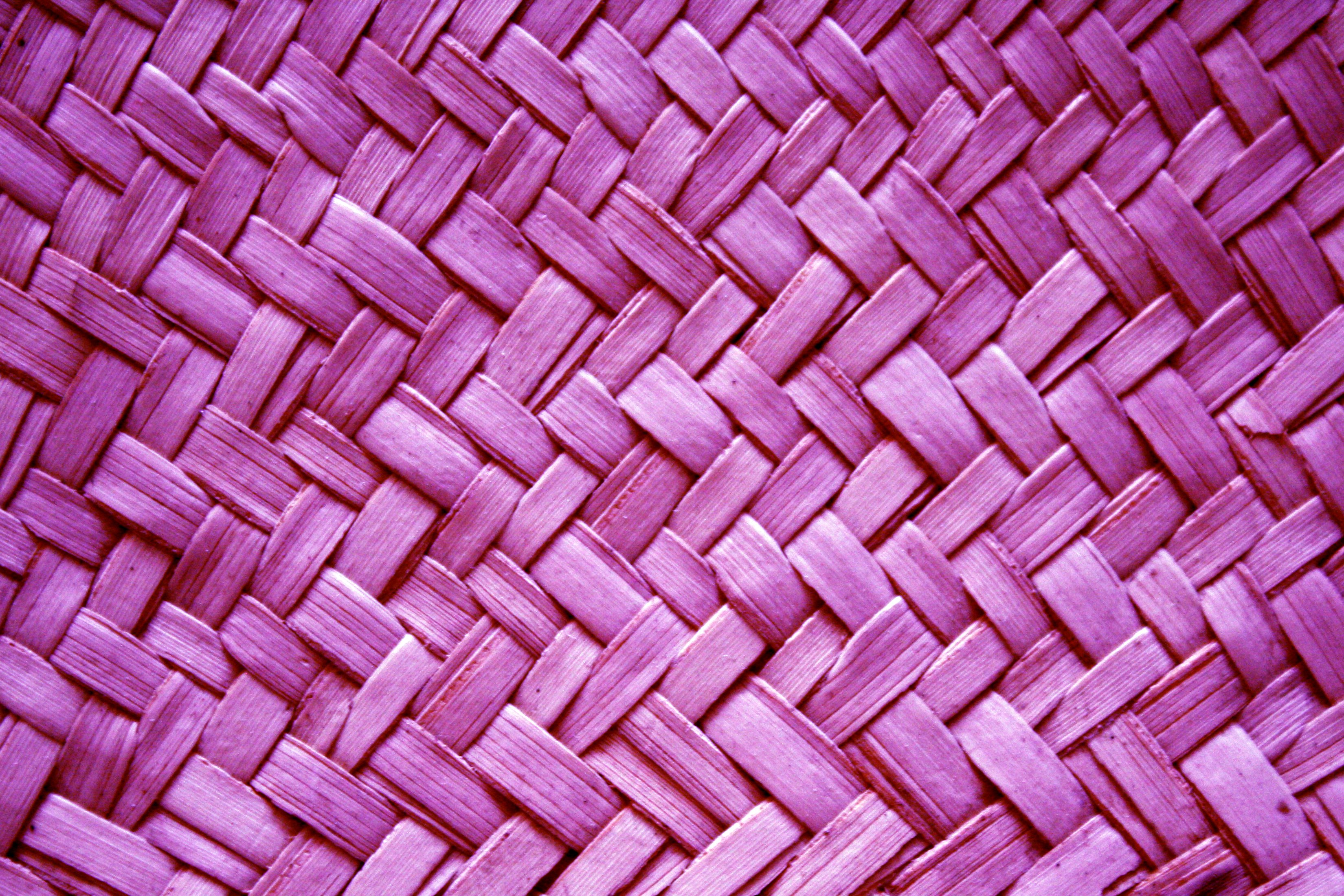 Purple Woven Straw Texture Picture Free Photograph