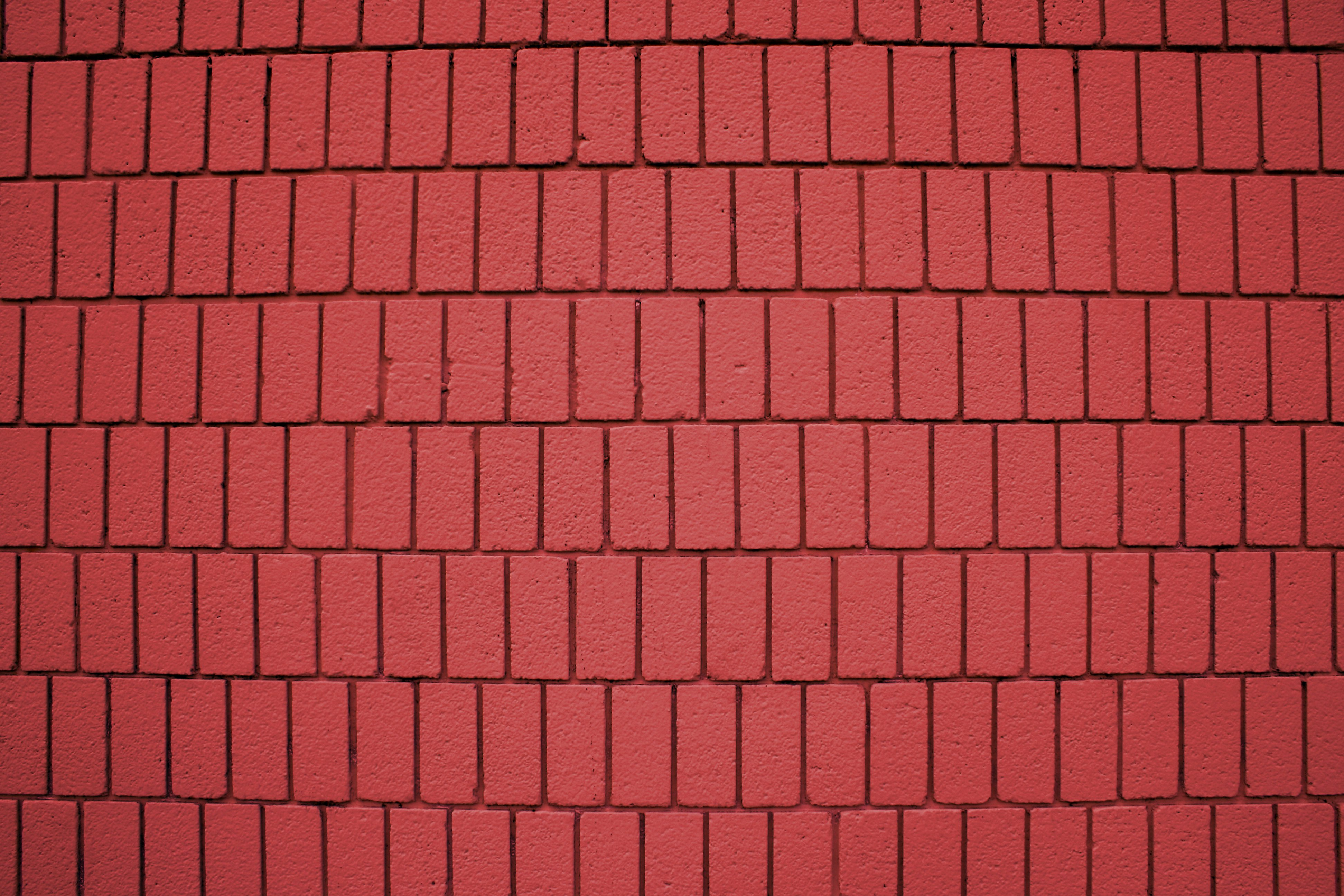 Brick Roof Texture red painted brick wall texture with vertical bricks picture | free