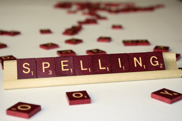 Spelling - Free High Resolution Photo of the word Spelling written in Scrabble tiles