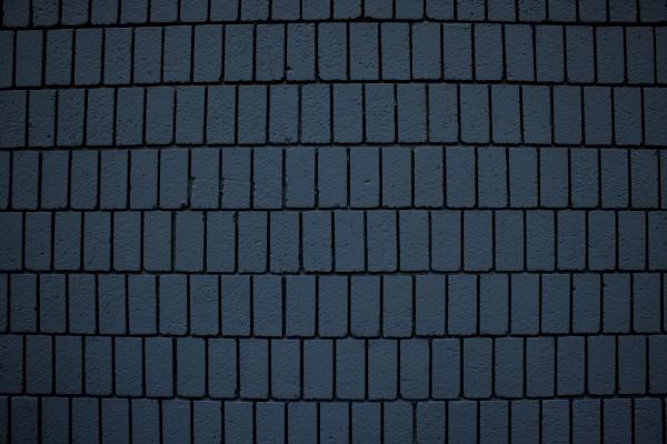 Steel Blue Brick Wall Texture with Vertical Bricks - Free High Resolution Photo