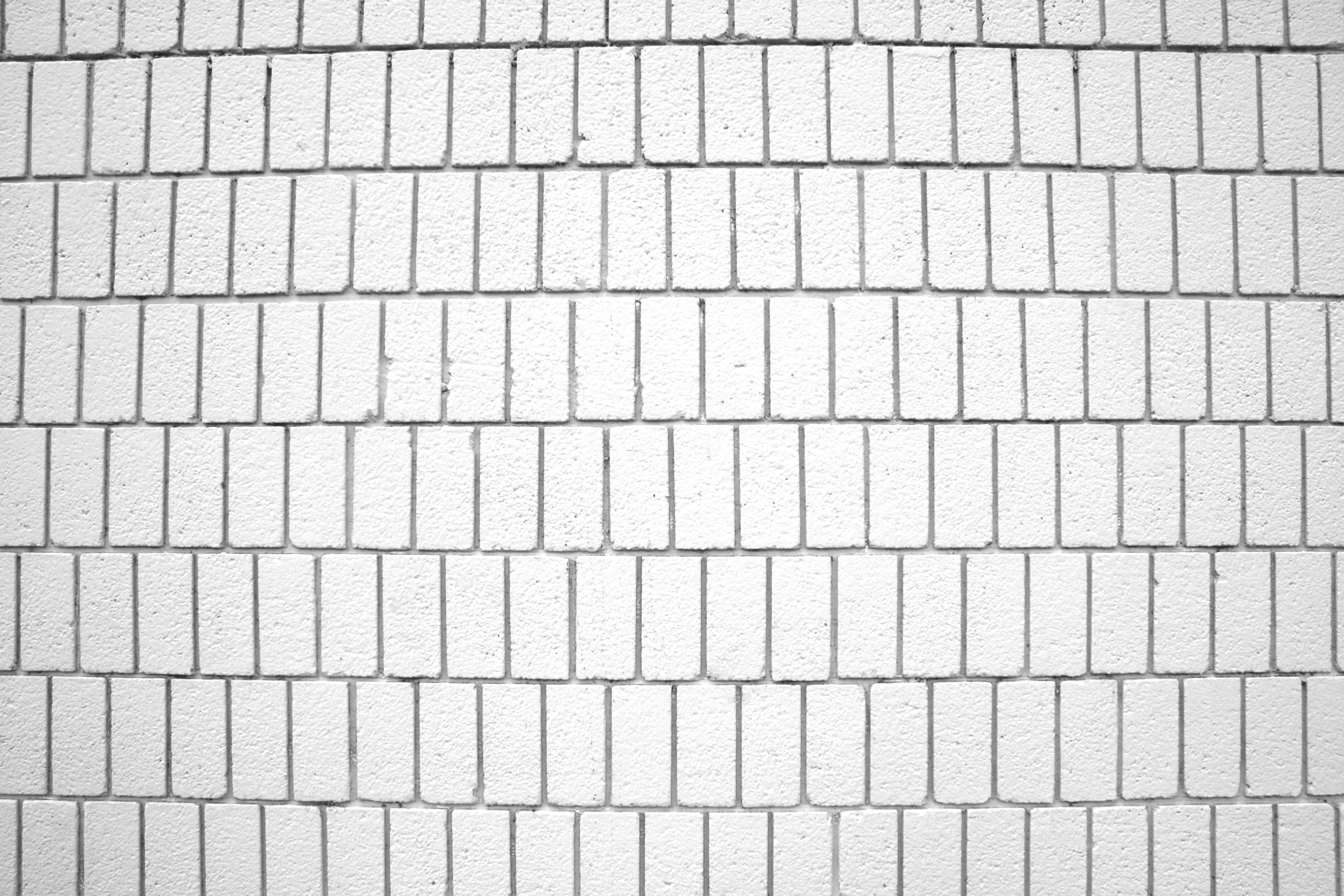 White Brick Wall Texture With Vertical Bricks Picture