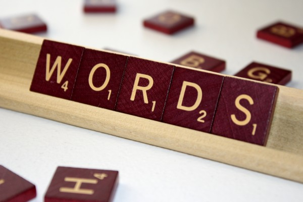 Words - Free High Resolution Photo of the word words spelled in Scrabble tiles