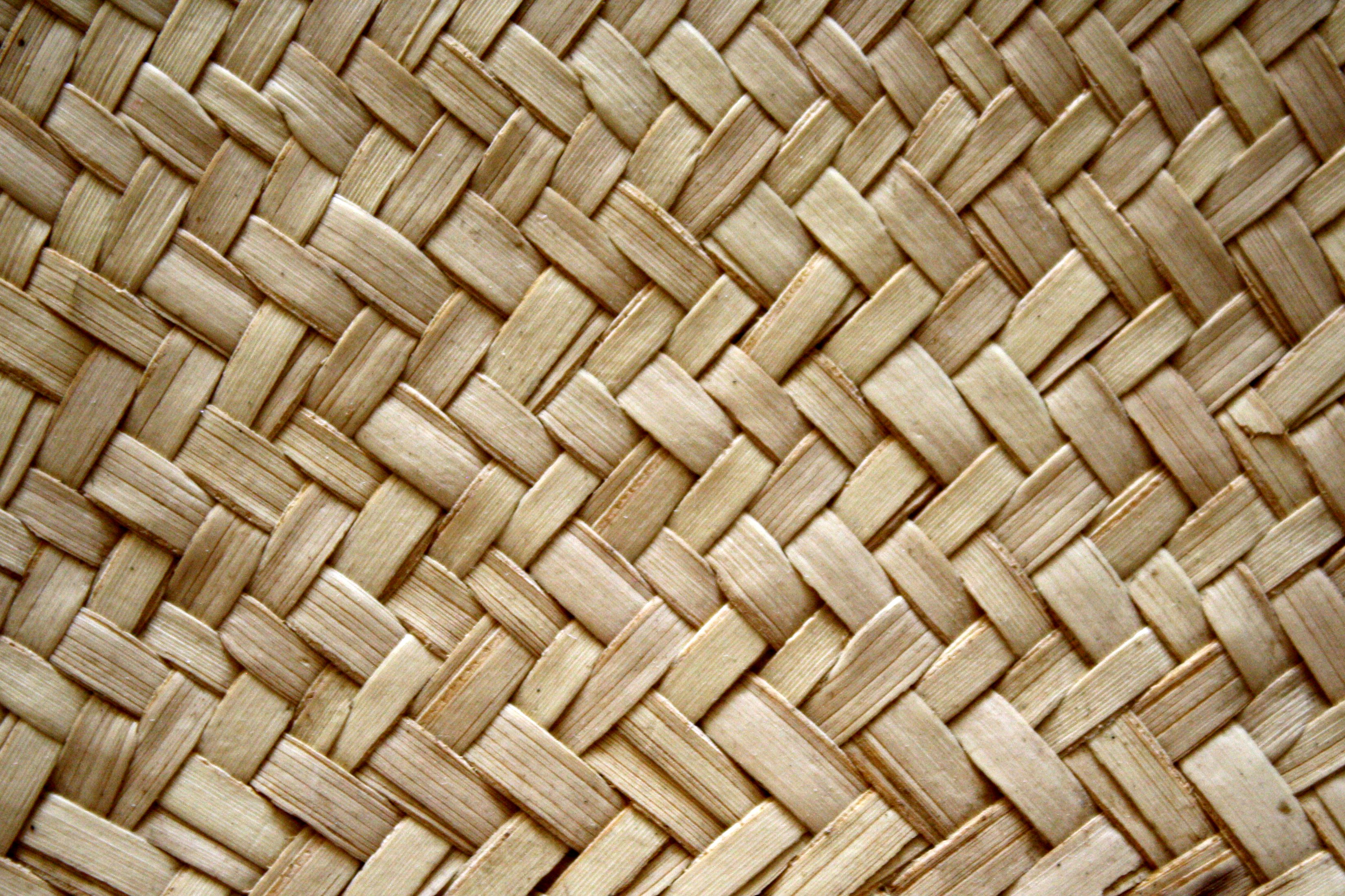 Woven Straw Texture Picture Free Photograph Photos