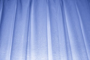 Blue Curtains Texture - Free High Resolution Photo