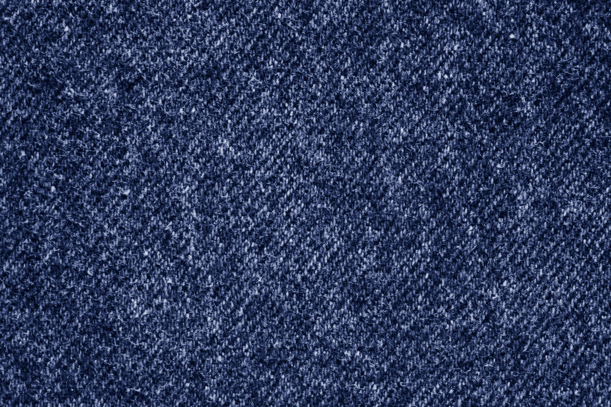 Dark Blue Denim Fabric Texture