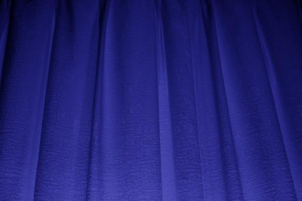 Deep Blue Curtains Texture - Free High Resolution Photo