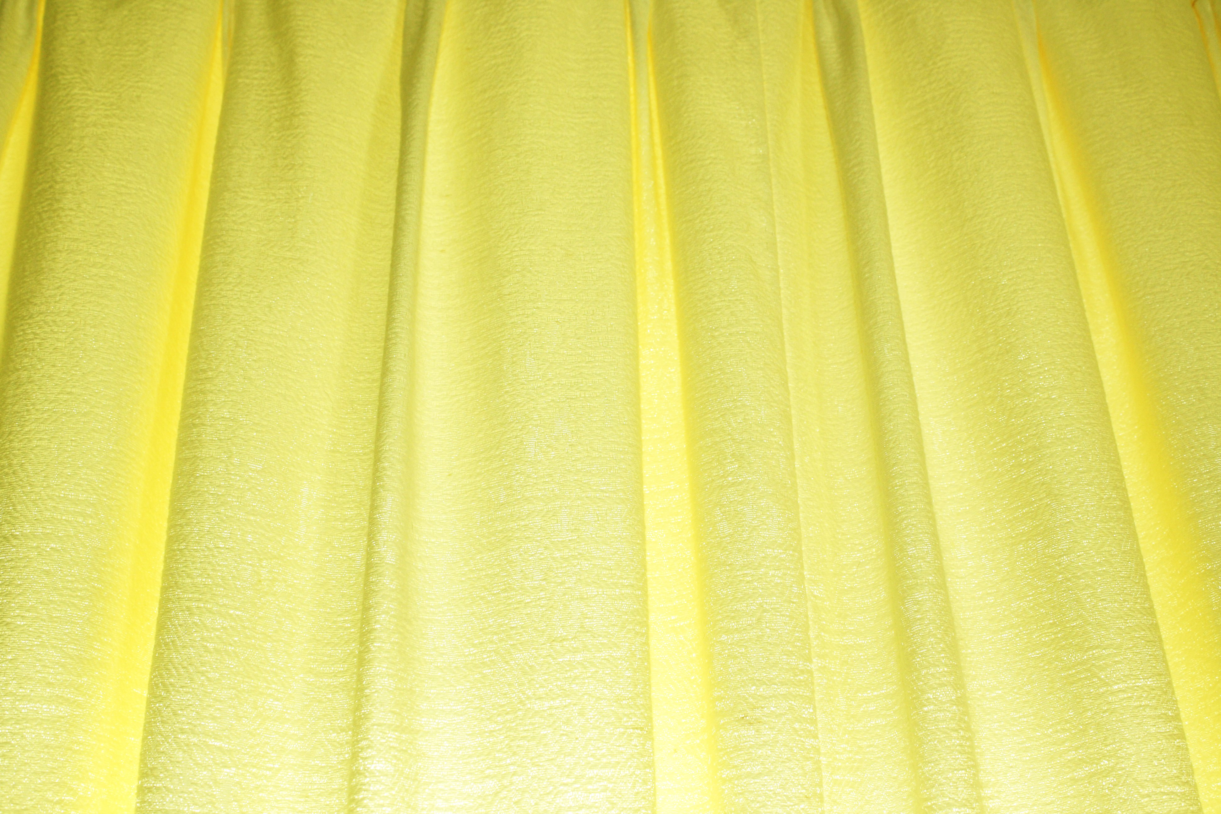 Click Here To Download Full Resolution Image Yellow Curtains Texture Free High