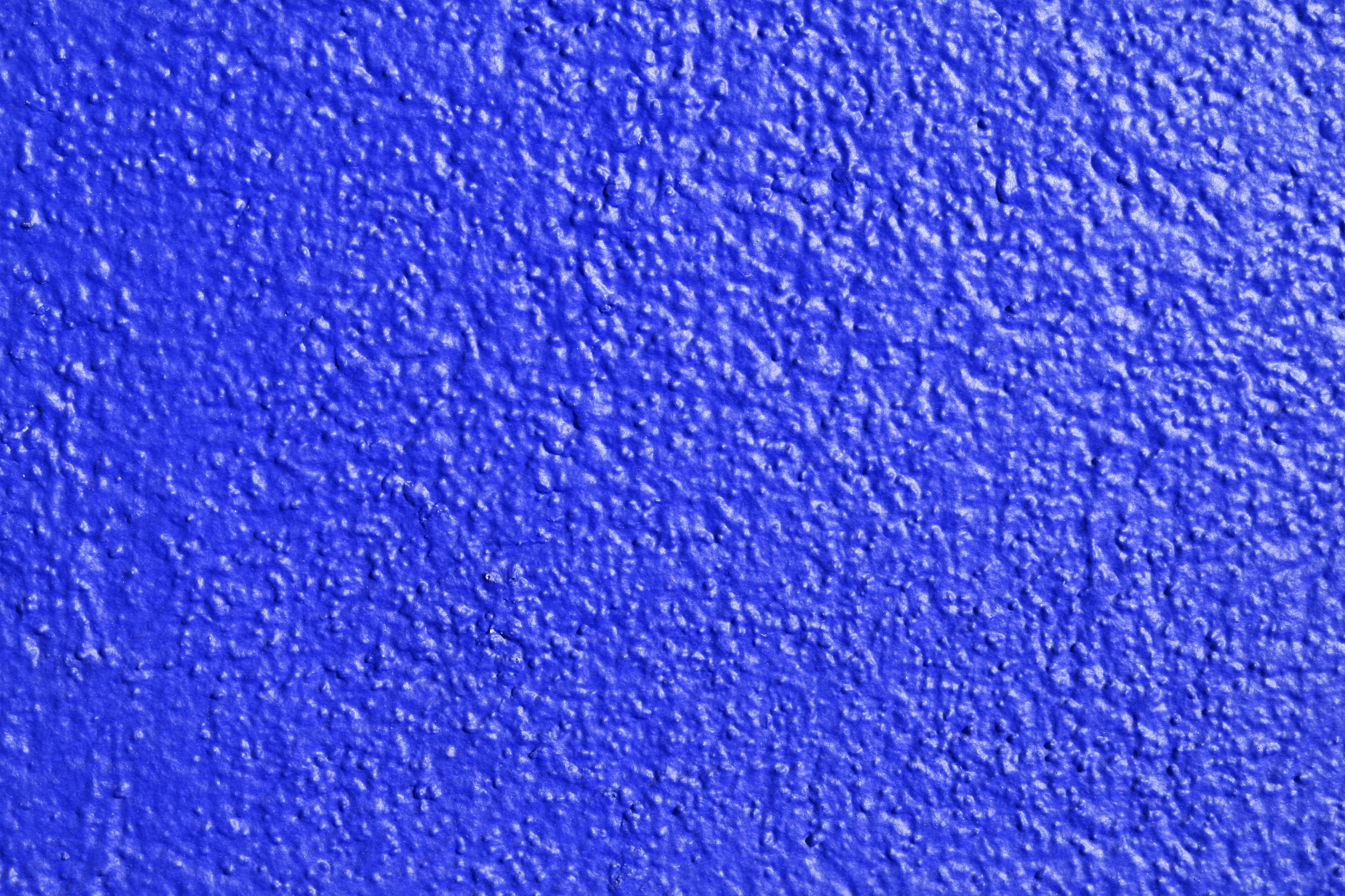Blue Painted Wall Texture