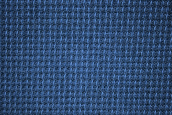 Blue Upholstery Fabric Texture - Free High Resolution Photo