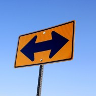 Both Ways Arrow Street Sign - Free High Resolution Photo