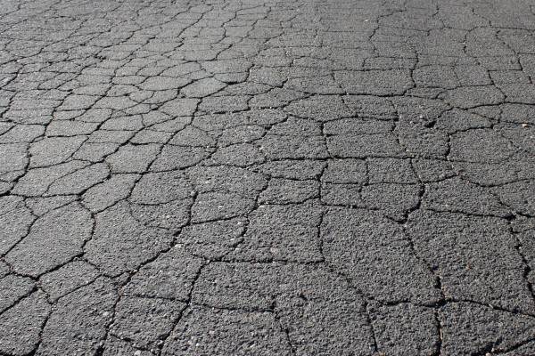 Cracked Asphalt Pavement - Free High Resolution Photo