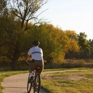 Man Riding Bike on Path - Free High Resolution Photo