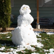 Melting Snowman - Free High Resolution Photo