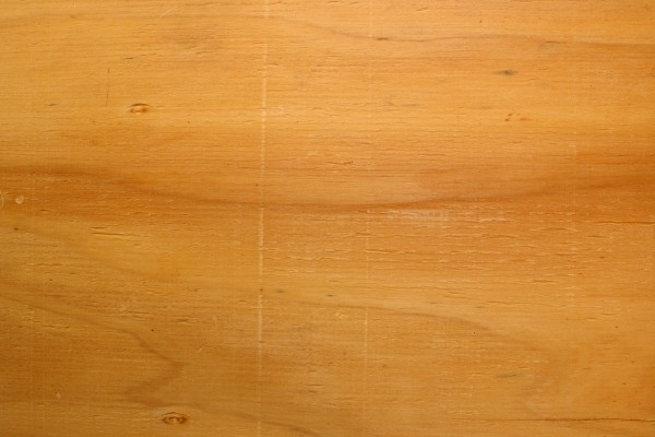 Plywood Close Up Texture With Horizontal Wood Grain