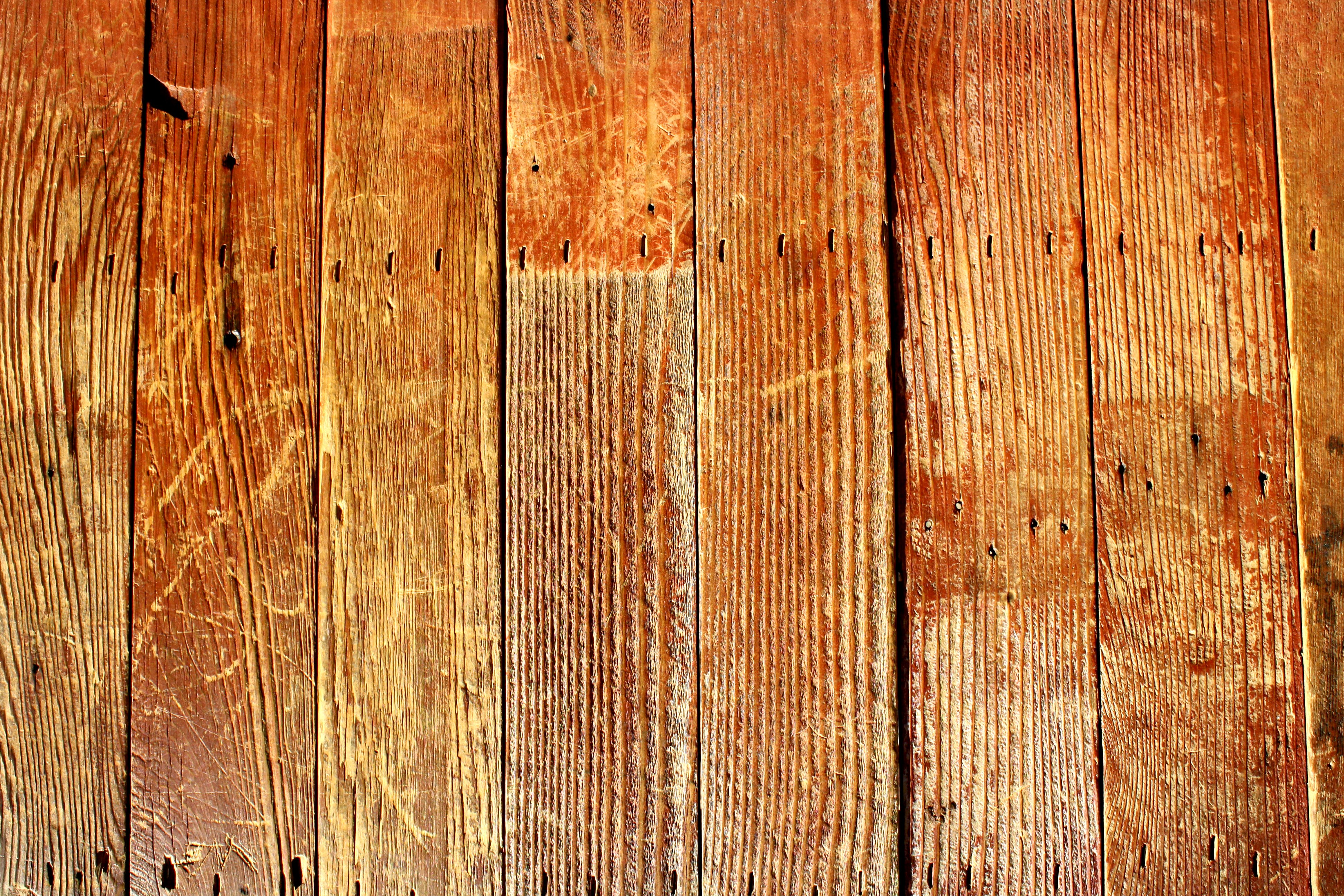 Old Wood Board ~ Scratched old wooden boards texture picture free