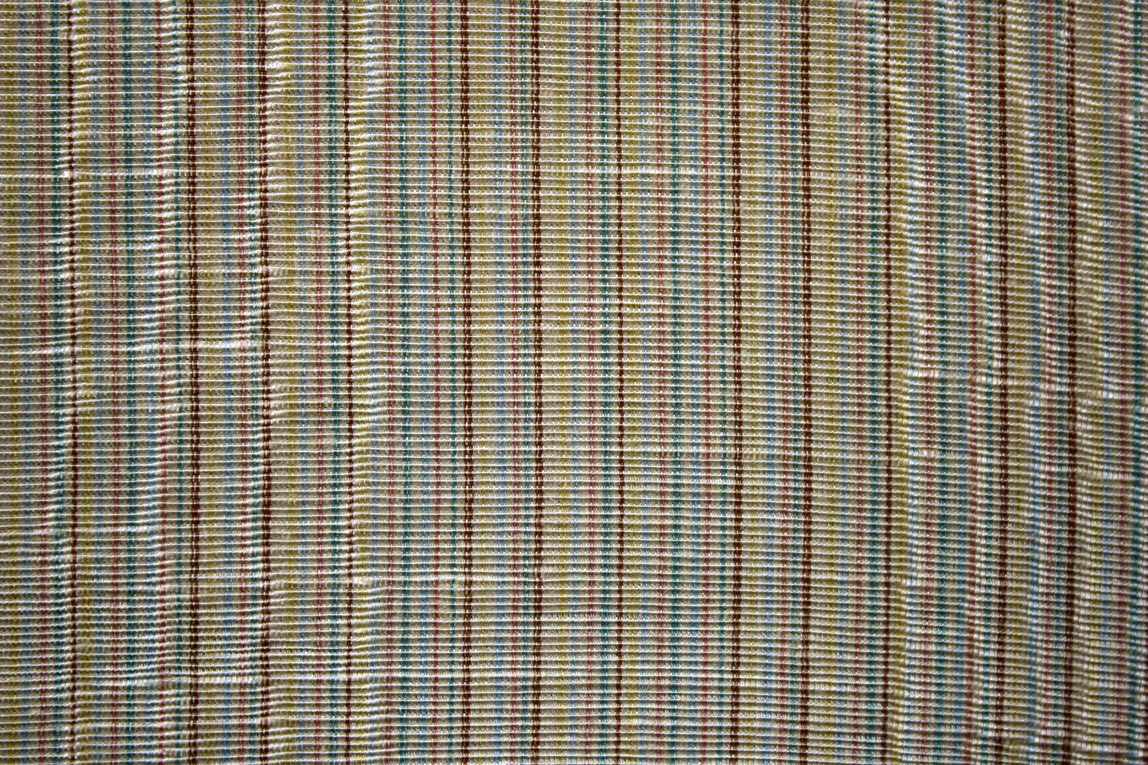 Brown and Blue Striped Upholstery Fabric Texture Picture | Free ...