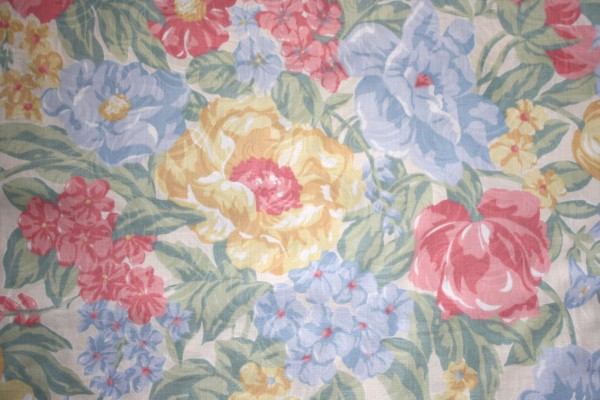 Floral Fabric Texture - Free High Resolution Photo