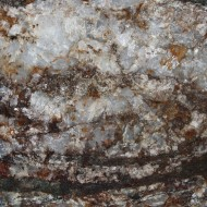 White Quartz Rock Texture with Hematite Iron Rust Stains - Free High Resolution Photo