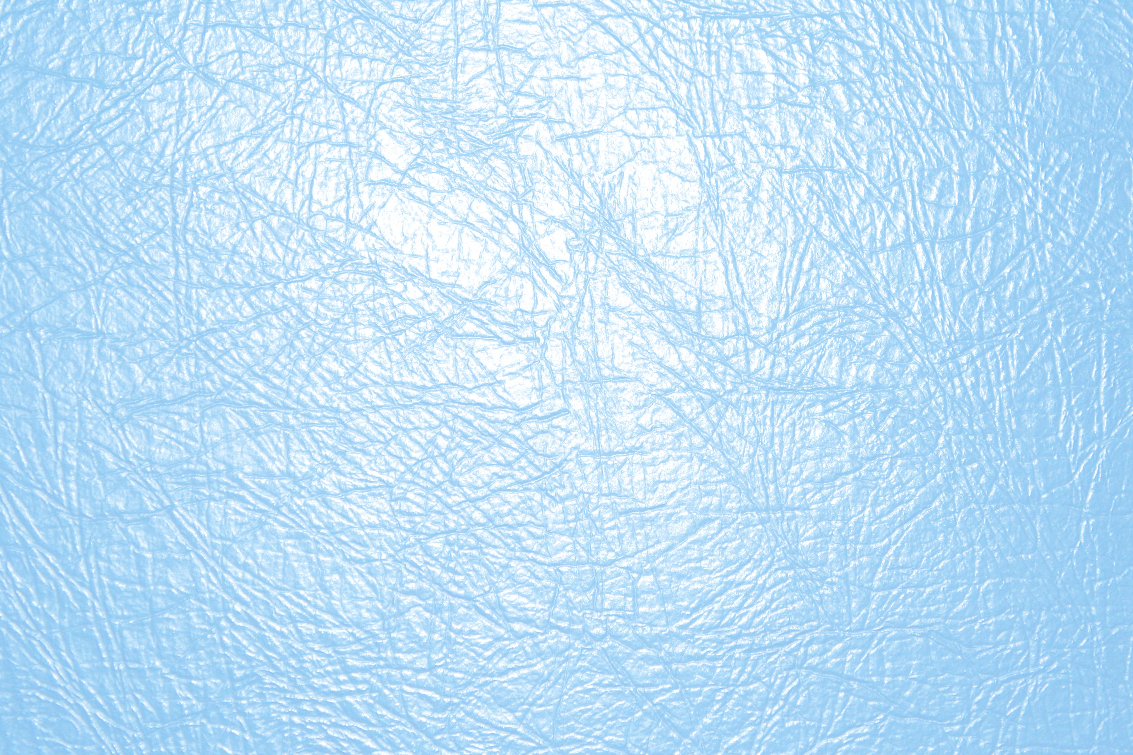 Baby Blue Leather Texture Close Up Picture Free