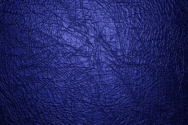 Blue Leather Texture Close Up - Free High Resolution Photo