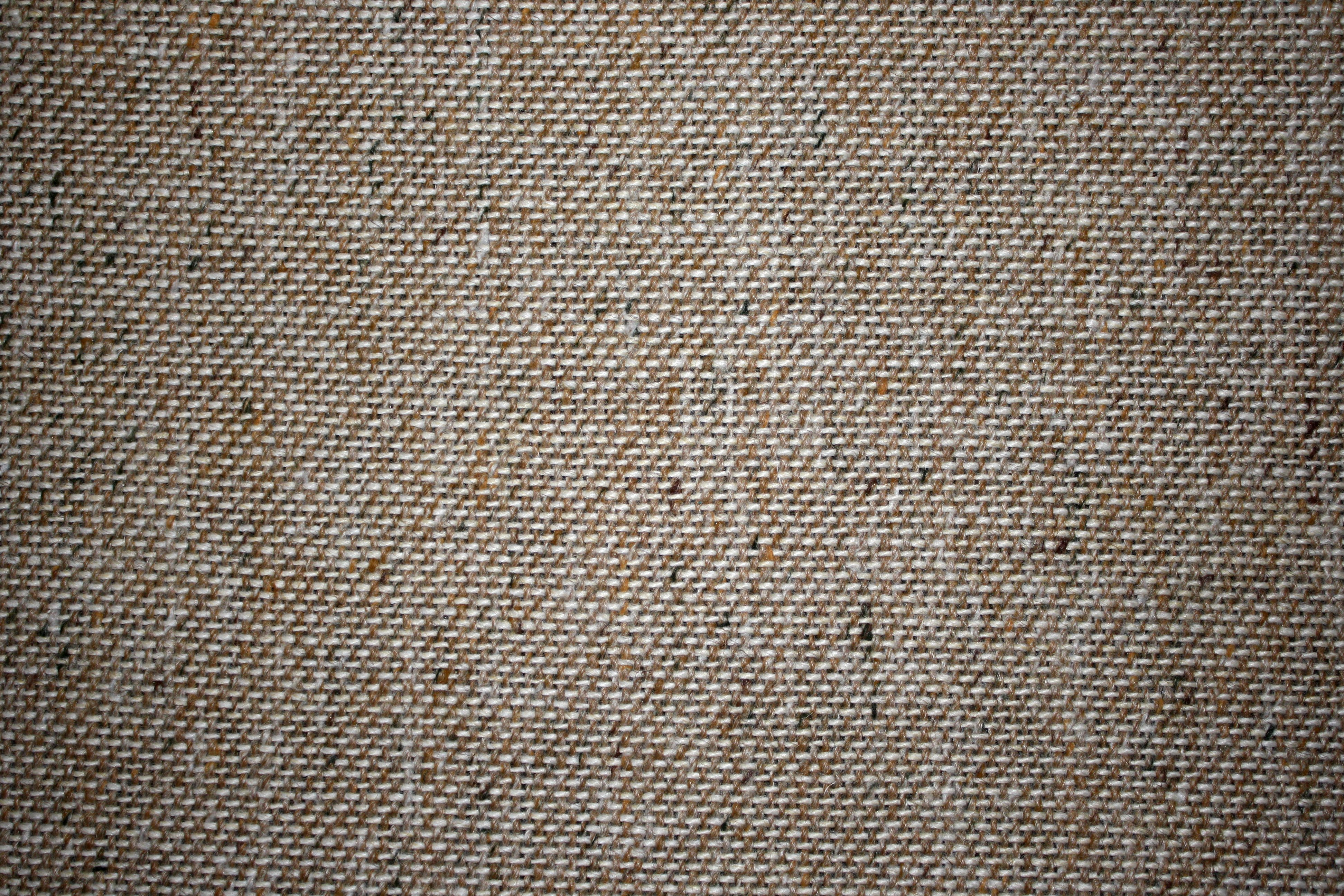 Brown And White Upholstery Fabric Close Up Texture