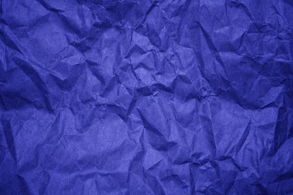 Crumpled Blue Paper Texture - Free High Resolution Photo
