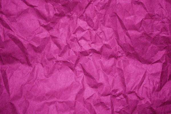 Crumpled Fuchsia Paper Texture - Free High Resolution Photo