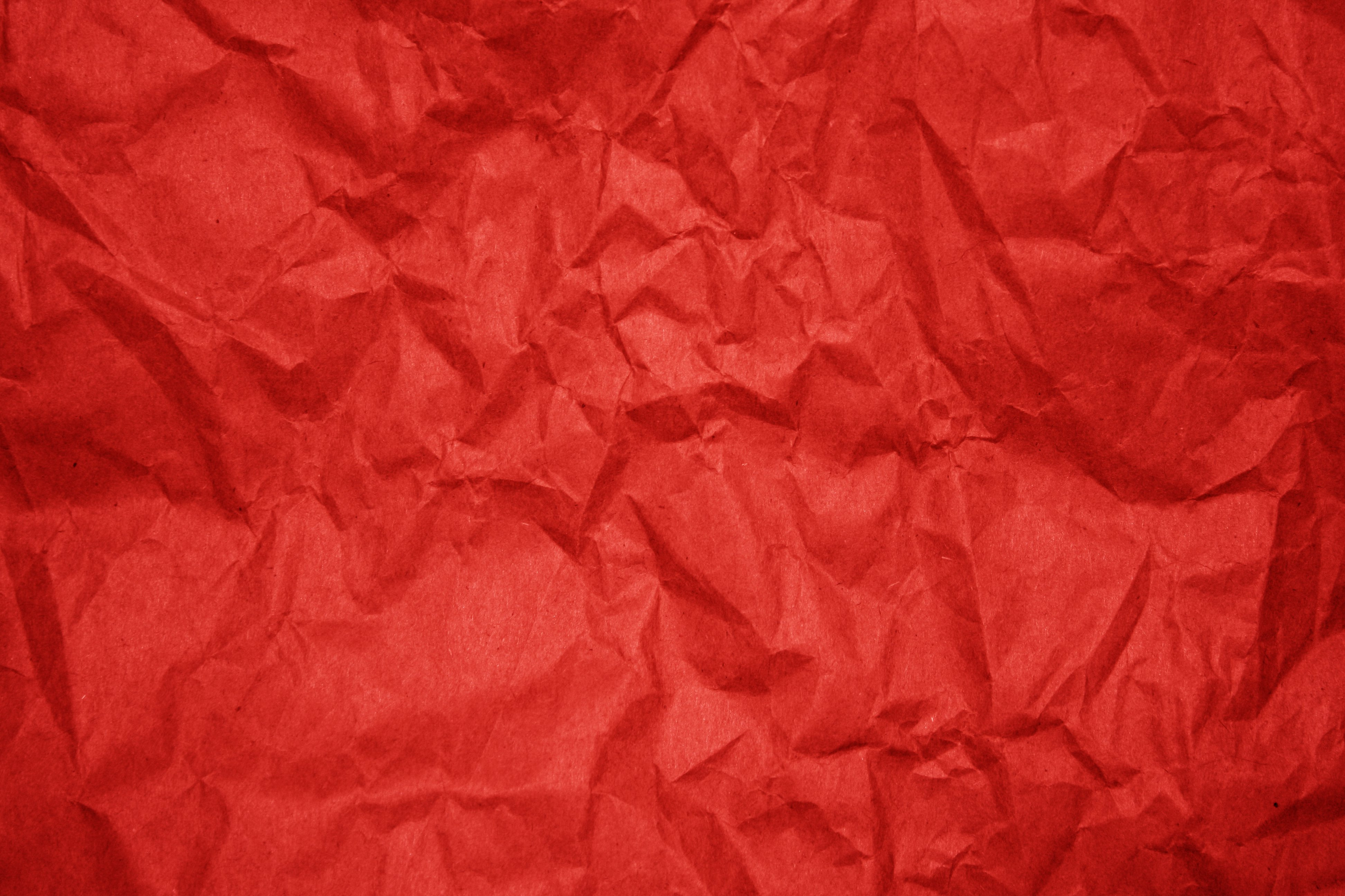 crumpled red paper texture picture free photograph