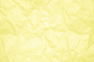 Crumpled Yellow Paper Texture - Free High Resolution Photo