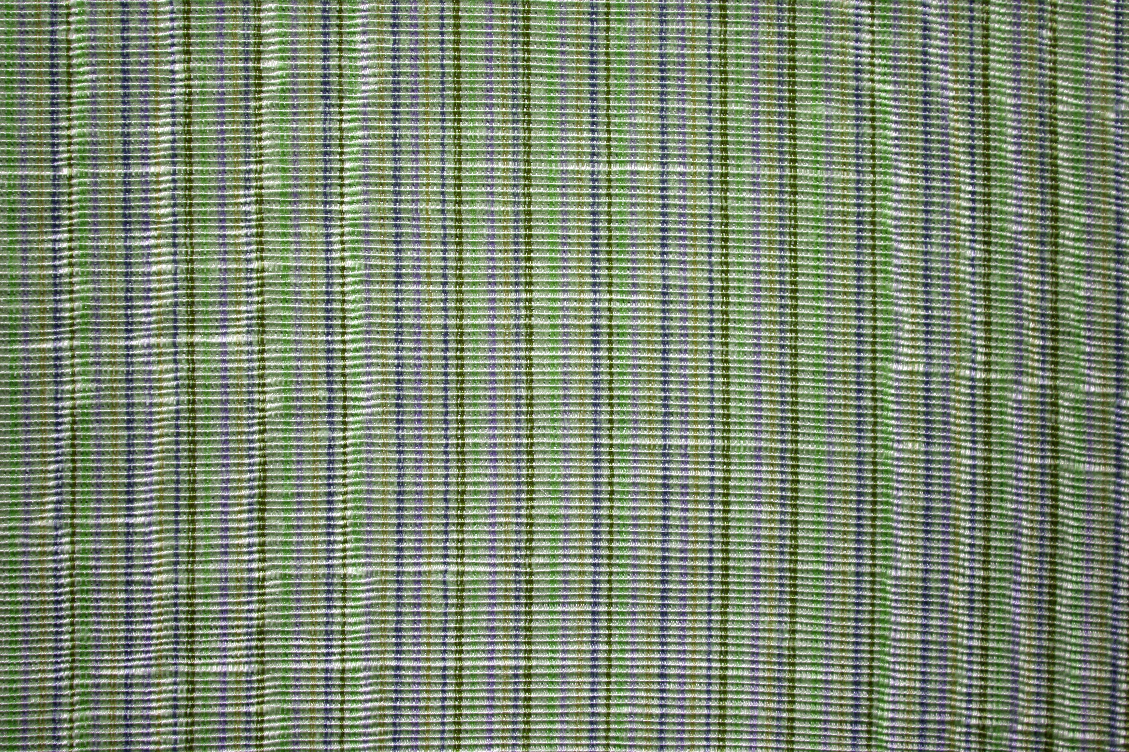 green and purple striped upholstery fabric texture