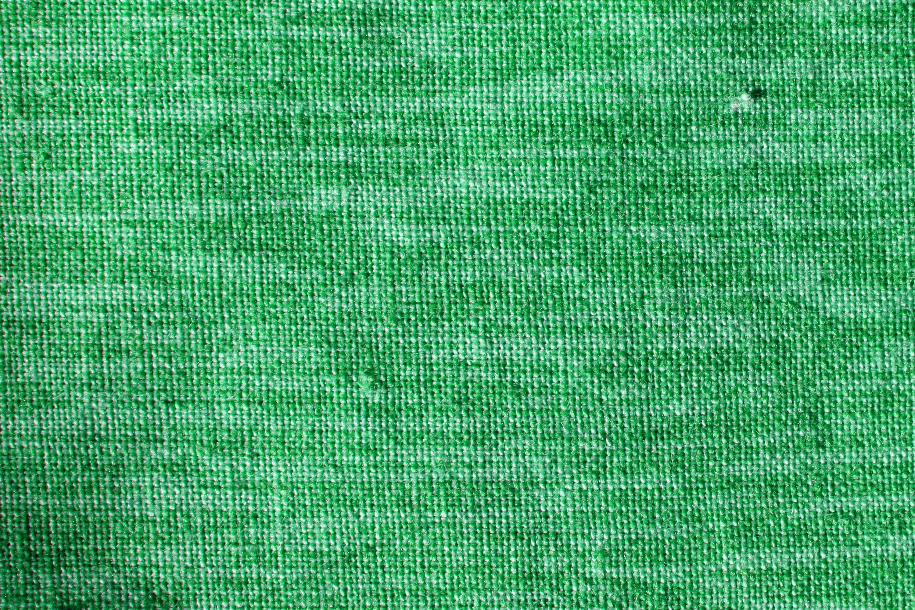 Green Woven Fabric Close Up Texture Picture Free