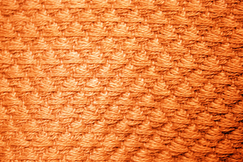 orange diamond patterned blanket close up texture picture  free  - orange diamond patterned blanket close up texture