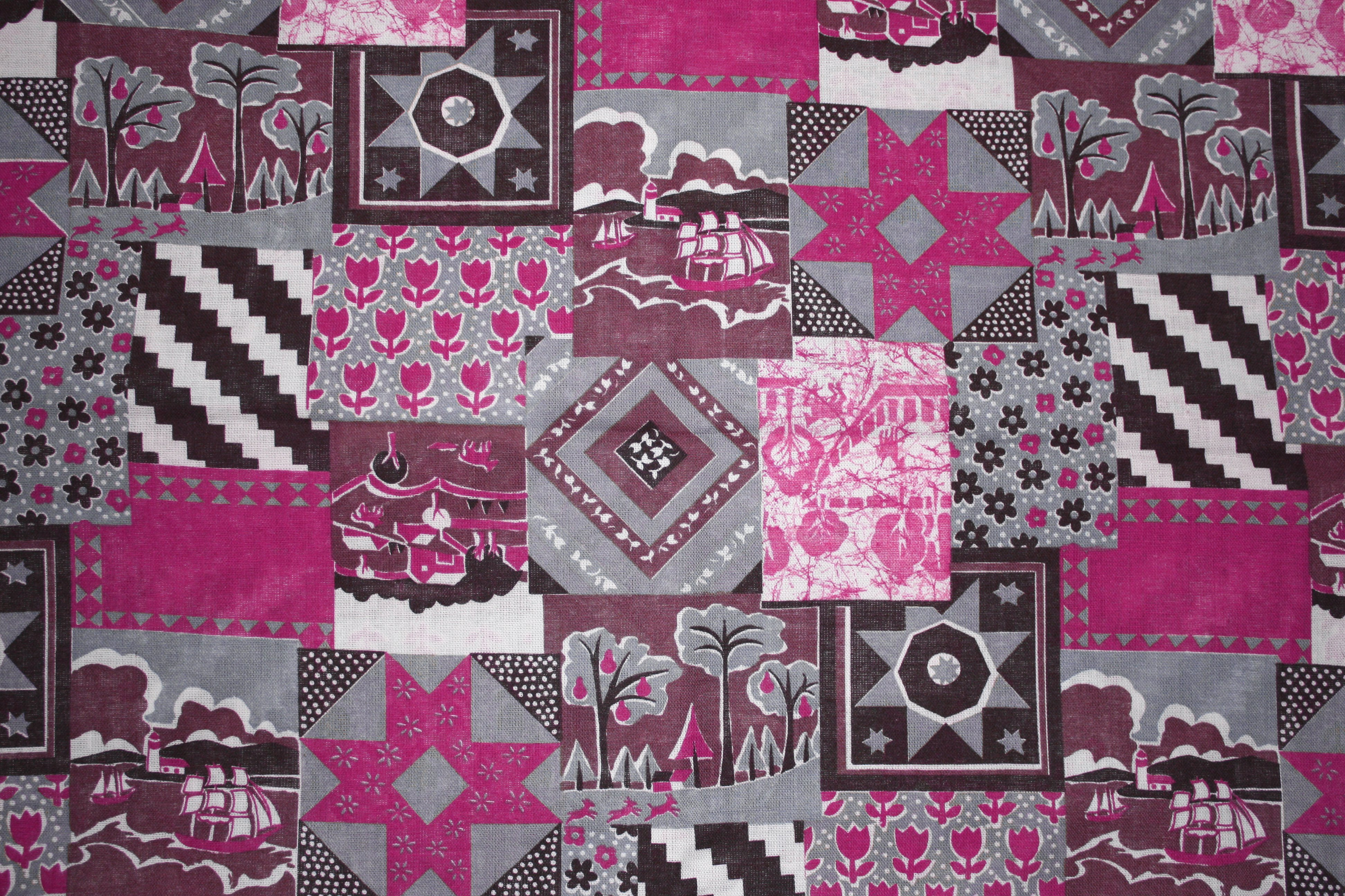 Pink fabric texture free high resolution photo dimensions 3888 - Pink Patchwork Quilt Fabric Texture