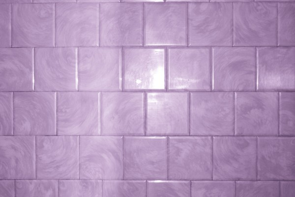 Purple Bathroom Tile with Swirl Pattern Texture - Free High Resolution Photo